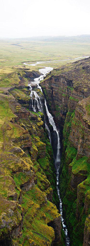 ♥️ Waterfall Glymur, Iceland - Tarmo888