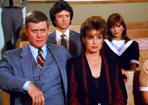 Dallas JR, Sue Ellen, Bobby and Pamela Ewing