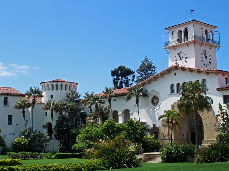 California - Santa Barbara - Santa Barbara County Courthouse