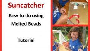 Suncatcher - Melted Beads