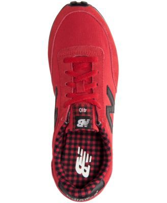New Balance Women's 410 Casual Sneakers from Finish Line - Red 8.5