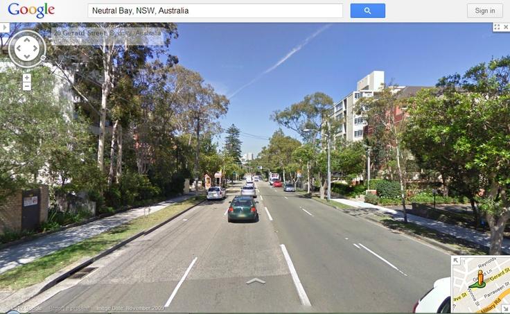 99Tasks.com - Concept - Outside view of Gerard Street, Sydney, Australia