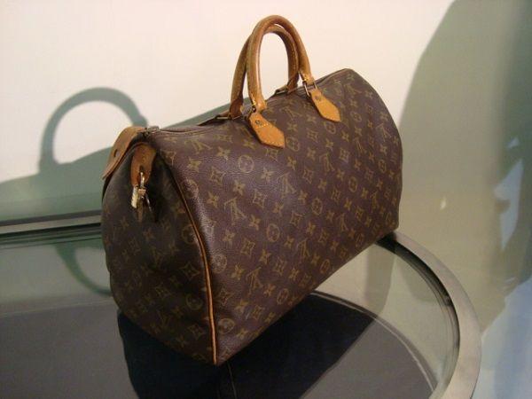Louis Vuitton  Sac Speedy 40 cm  occasion, en vente Ile Saint Louis - Paris