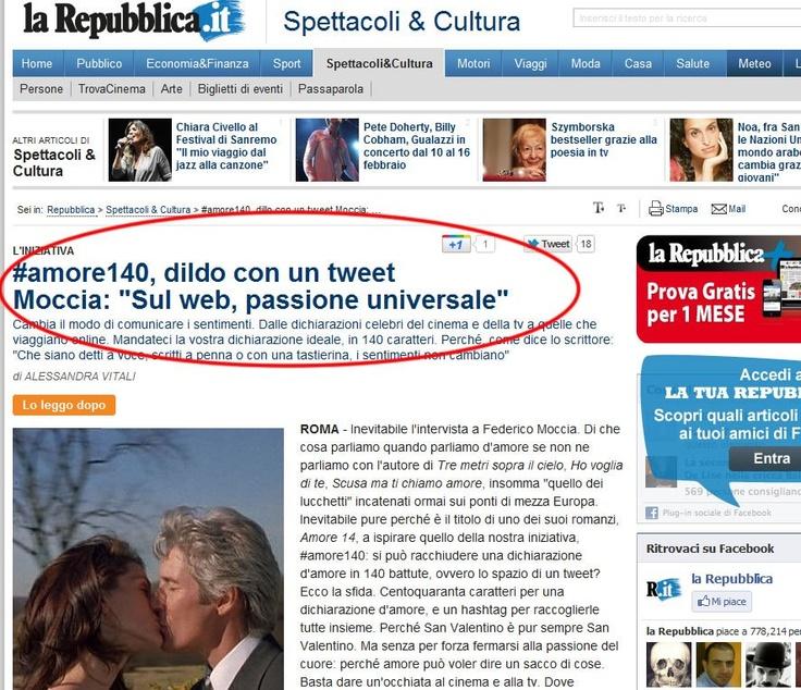 Repubblica.it EpicFail #dildoconuntweet