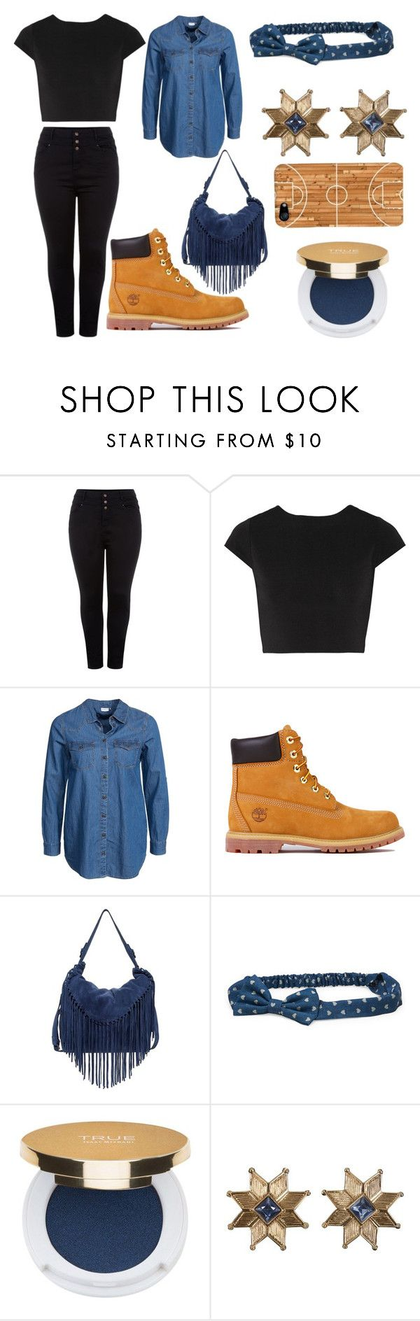 """BBT Swag!!(blue,black,and tan)"" by cute-but-sporty ❤ liked on Polyvore featuring New Look, Alice + Olivia, Jacqueline De Yong, Timberland, Sorial, Aéropostale and Isaac Mizrahi"