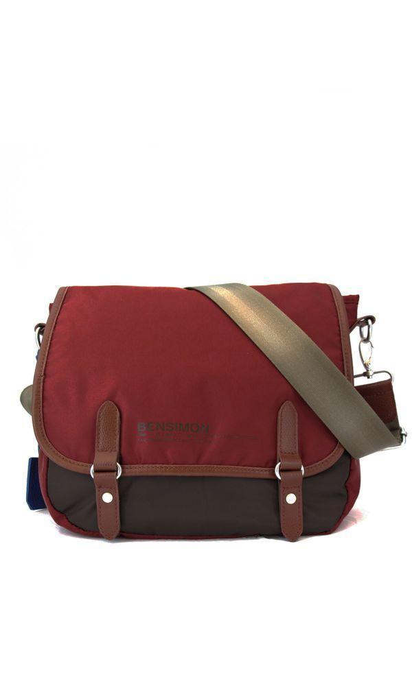 satchel bag hot color line roux bensimon - Bensimon Color Bag