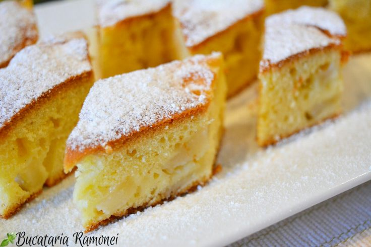 Este cu fructe, este simplă și ușor de făcut! Cred că asta este cea mai bună descriere pentru această delicioasă prăjitură. Găsiți rețeta aici: http://bucatariaramonei.com/recipe-items/prajitura-simpla-cu-pere/ #desert #prajitura #fructe #pere #fruitcake #pears #cake