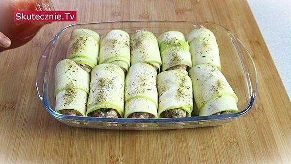 Golabki Z Cukinii Skutecznie Tv Video Przepisy Na Proste Smaczne I Szybkie W Przygotowaniu Dania Food Zucchini Vegetables