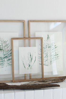 Pflanzendrucke zum Selbermachen und Aufhängen