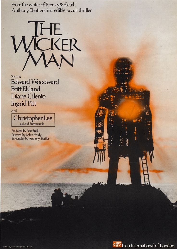 The Wicker Man (1973)  When the clash of the delirant forces of  fanaticisms lead to a new vision of reality.