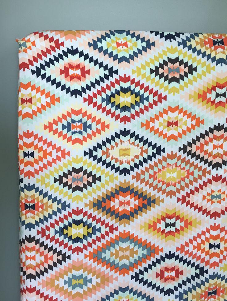 Southwestern Crib Sheet, Baby Bedding, Serape Crib Sheet, Tribal Nursery, Boy Nursery, Girl Nursery by PreciousandPink on Etsy