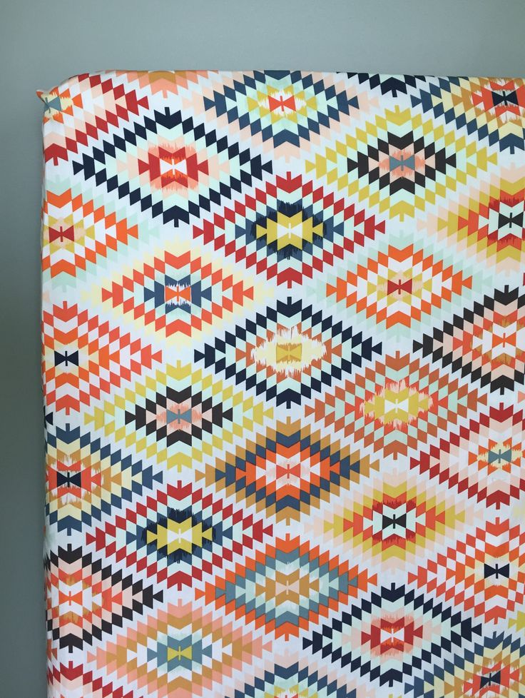 Southwestern Crib Sheet, Baby Bedding,  Serape Crib Sheet, Tribal Nursery, Boy Nursery, Girl Nursery by PreciousandPink on Etsy