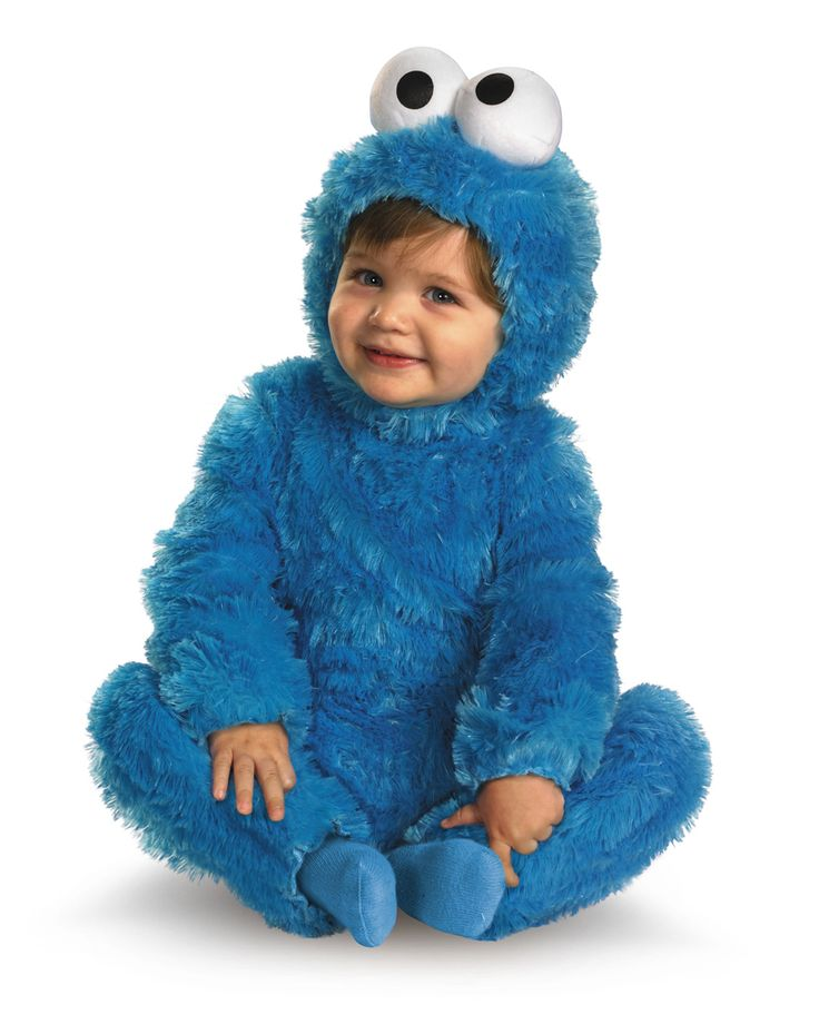 cookie monster costume spirit halloween store sizes infant one size fits most - Monsters Inc Baby Halloween Costumes