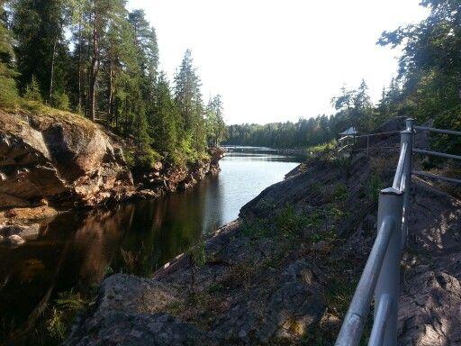 8.8.2014 Imatrankoski,  Imatra, Finland