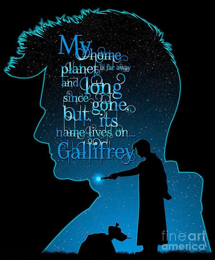 my planet is gone  ...Gallifrey