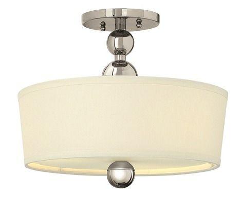 Plafon Elstead Lighting ZELDA S/F PN | Lampy \ Lampy wewnętrzne \ Plafony