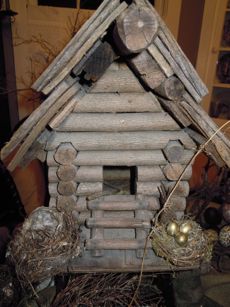 1000 images about log cabin bird houses on pinterest bird feeders nuthatches and sheds for Types of birdhouses