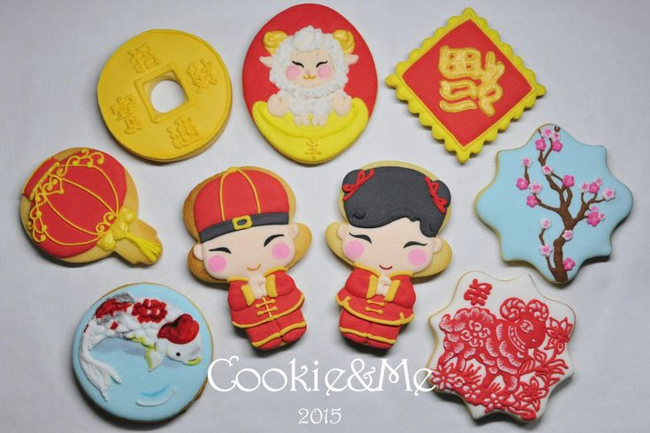 Chinese New Year cookie   Cookie Connection