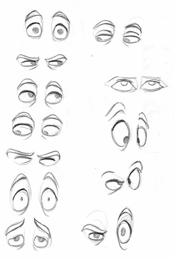 Cartoon Characters Eyes : Best ideas about character drawing on pinterest