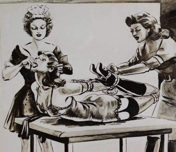 Vintage bondage cartoons
