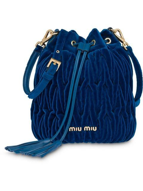 793df559ae4a Miu Miu Matelassé Bucket Bag - Farfetch