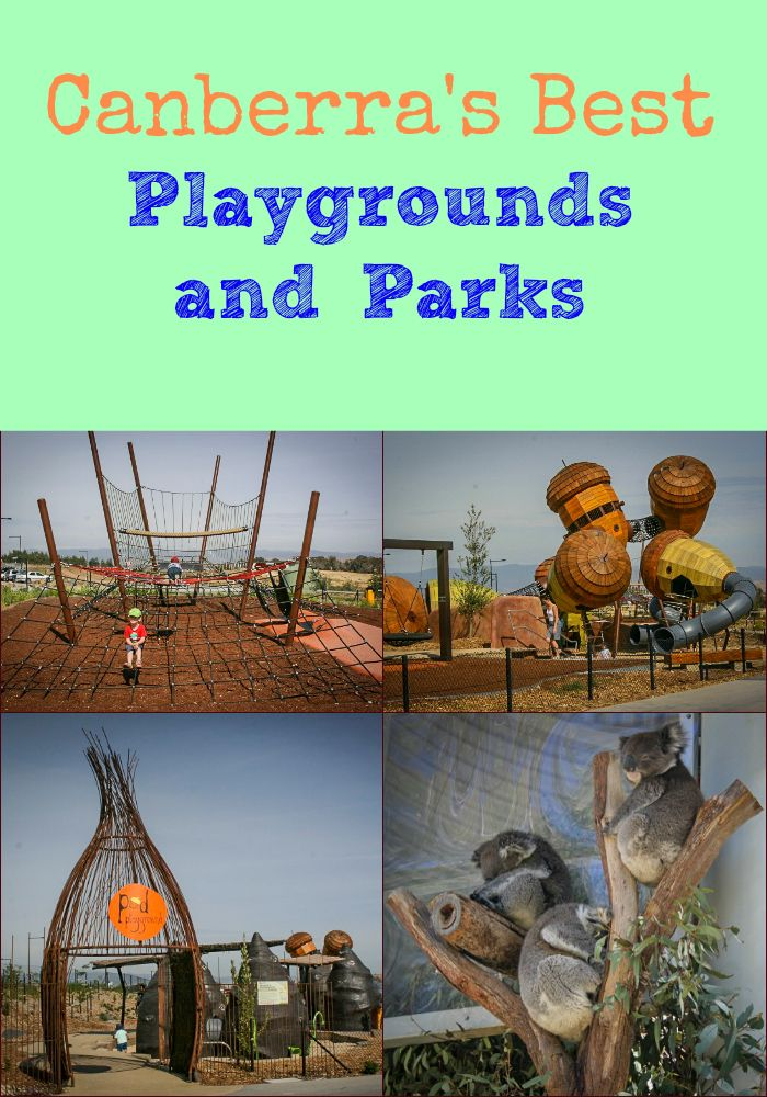 Canberra makes a fab weekend or longer trip for families. Click here to read about the best parks and playgrounds, and find links to more info too!
