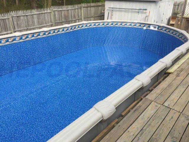 17 best images about above ground pool liners on pinterest indigo swim and dads for Above ground swimming pool liner