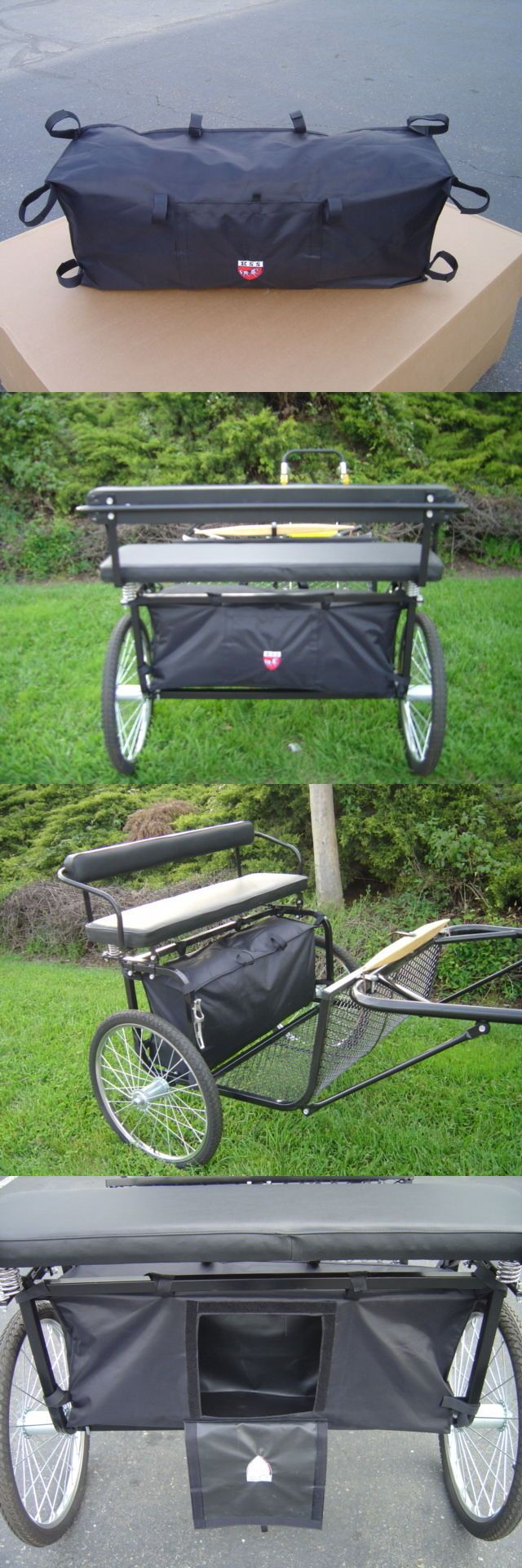 Other Driving Equipment 13376: Large Storage Bag For Ez Entry Pony/Cob/Full Horse Cart -> BUY IT NOW ONLY: $45.0 on eBay!