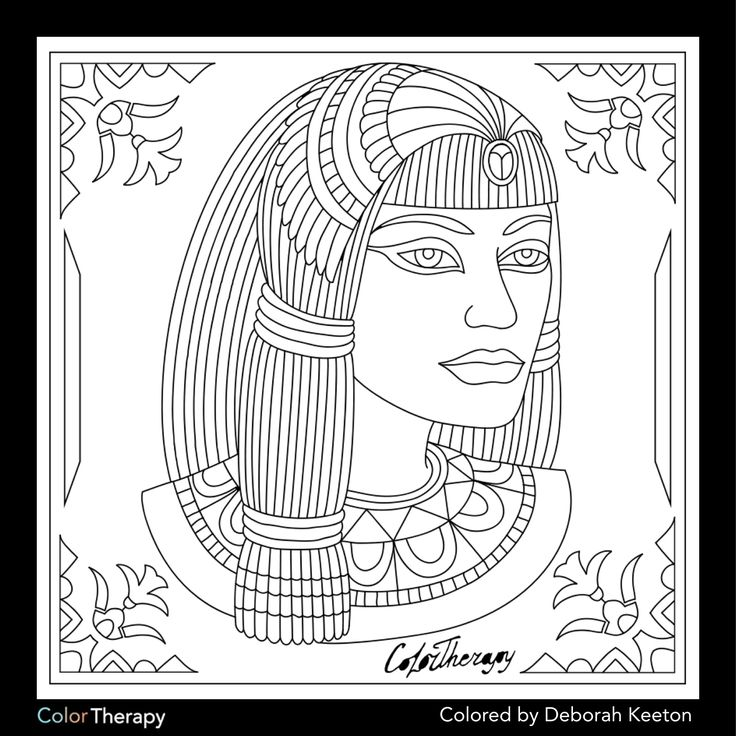 37 best Coloring pages/LineArt-Ancient Egypt images on