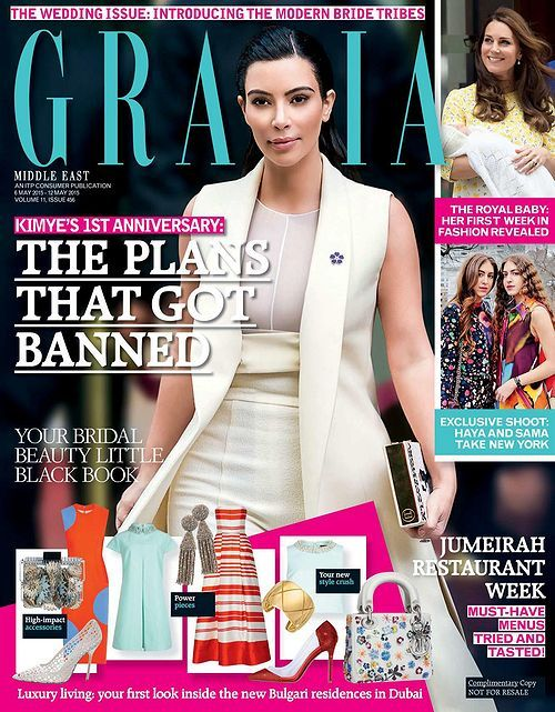 Kim Kardashian (2015.05.06. Grazia)