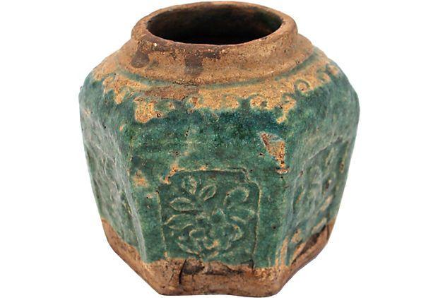 Antique Chinese Ginger Jar  $75.00  ($135.00)