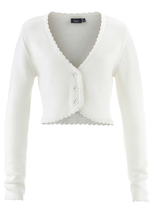 Sweter rozpinany ludowy Sweter • 89.99 zł • bonprix