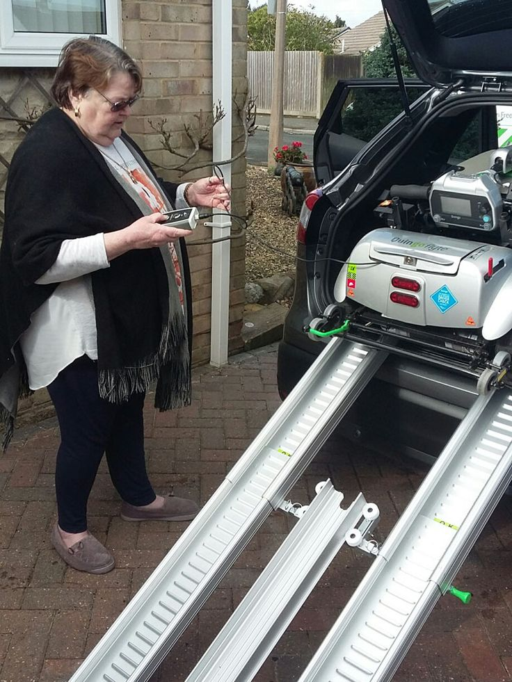 Mrs Dawkins loves the easy of loading her Quingo Flyte mobility scooter offers. Get your demo here http://contact.quingoscooters.com/social-mobility-scooters