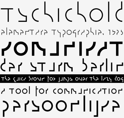 alphabet by Władysław Strzemiński,1932