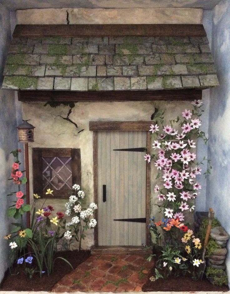 1/12 scale English Cottage room box | Dolls & Bears, Dollhouse Miniatures, Other Dollhouse Miniatures | eBay!