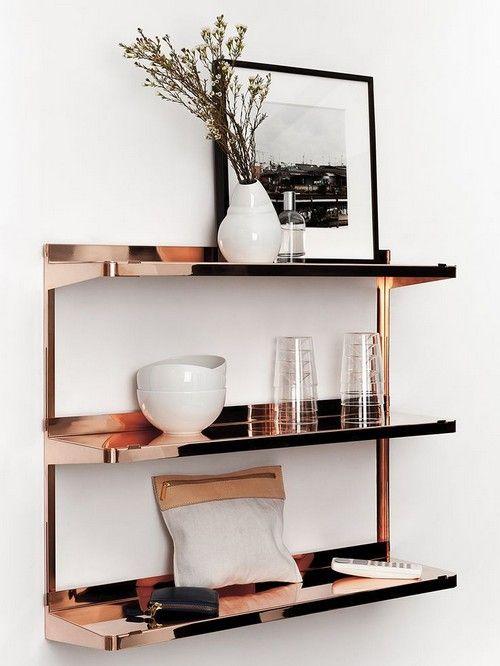 Beauty in Copper 20 pics Messagenote.com shelf copper