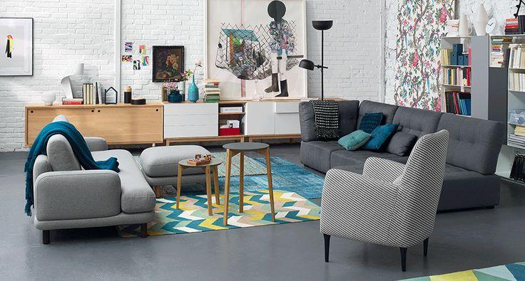 Canap s fauteuils habitat interiors pinterest for Habitat france canape