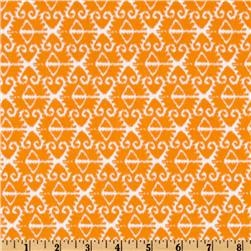Michael Miller Sorbet Spa Ikat Orange - $8.98 per yard at Fabric.com.  Thinking of this for pillows on the futon.