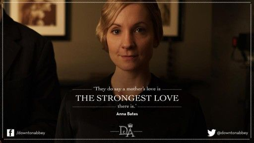 A mother's love is the strongest! <3 #DowntonAbbey