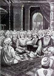 Pandavas gambling