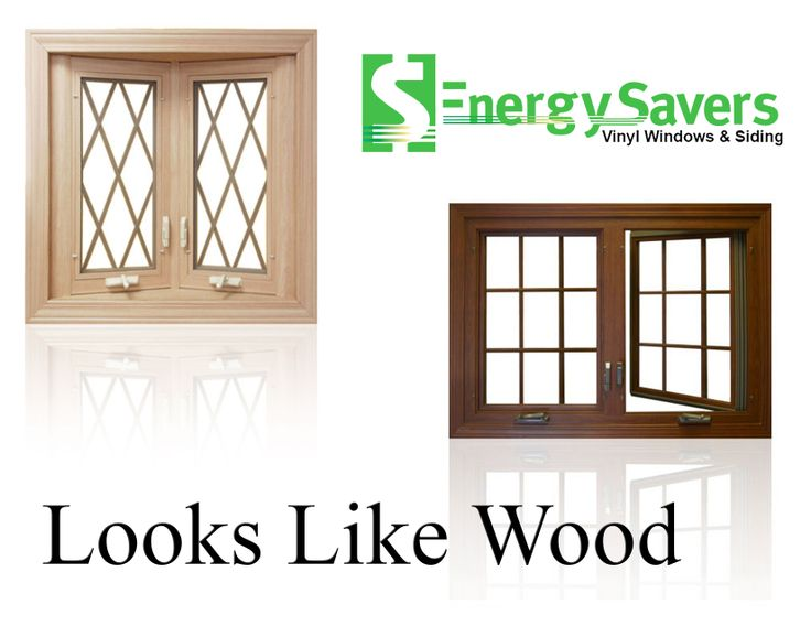 Looks Like Wood But Its Vinyl Windows 50 Off Energy