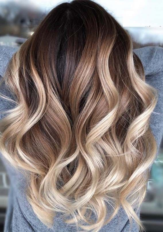 Awesome Balayage Highlights And Color Ideas For 2019 Voguetypes Brown Hair With Blonde Highlights Brown Hair Balayage Brown Blonde Hair