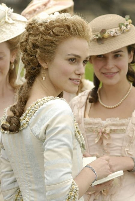 Keira Knightly - in The Dutchess.