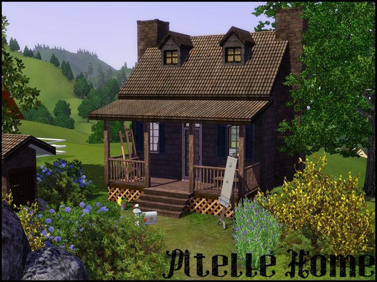 503 Best Sims 3 Build Inspiration Images On Pinterest