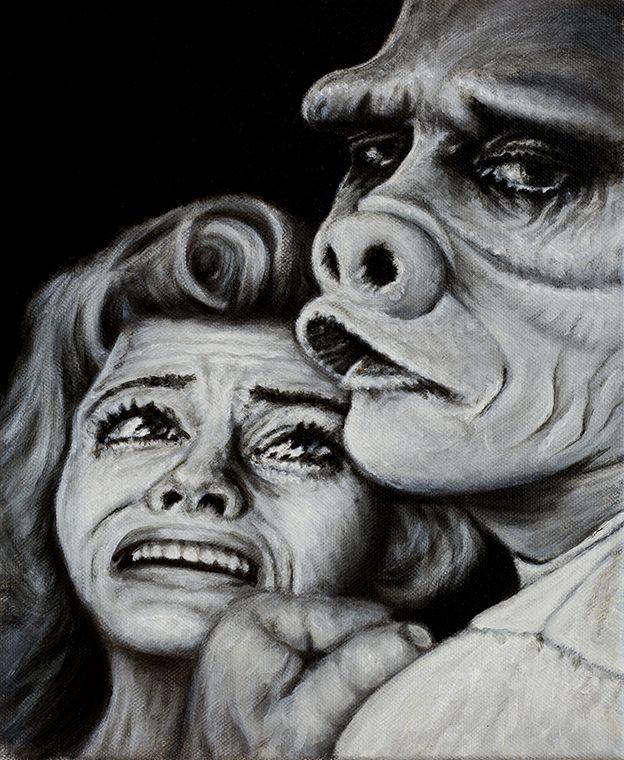 Eye of the Beholder Oil on canvas. Brock Banner