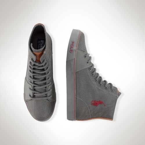 Ralph Lauren Cantor Mid Sneaker on shopstyle.com