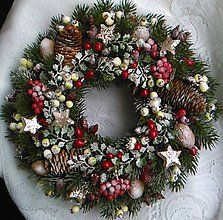 Dekorácie - Vintage Vianoce - 6198850_