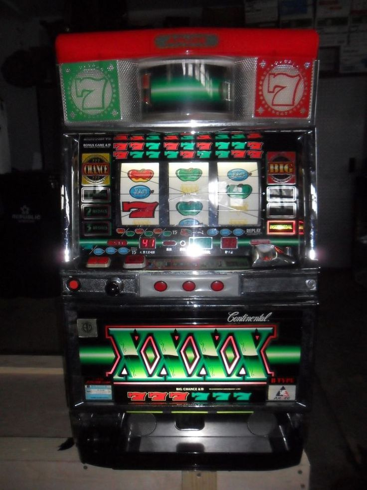 Slot machine quarters to tokens