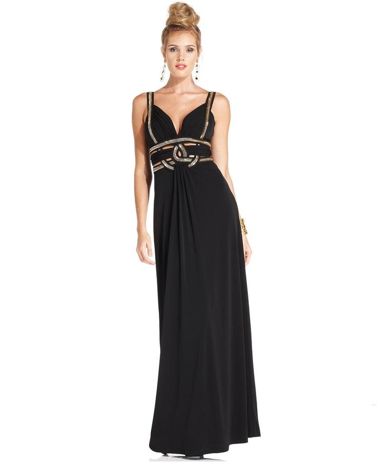 Wedding Gowns Macys: GUESS Dress, Sleeveless Beaded Cutout Gown