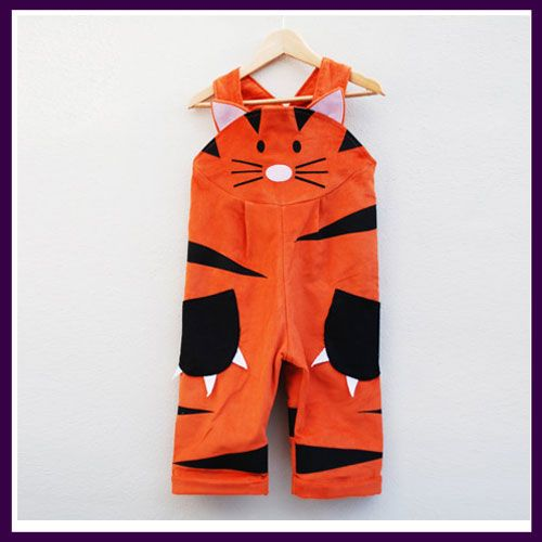 Wild Things Tiger Dungarees